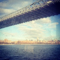 Photo taken at East River Ferry by Abi B. on 12/19/2012