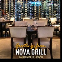 Photo taken at Nova Grill by Edgar C. on 6/13/2013