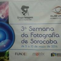 Photo taken at Grupo Imagem Nucleo de Fotografia by Fotógrafo Edeson S. on 5/6/2014