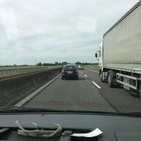 Photo taken at Autostrada A13 by Tesoro on 5/21/2013
