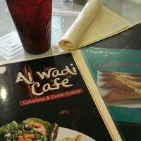 Photo taken at Al-Wadi Cafe by Megan L. on 2/27/2016