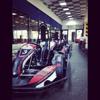 Photo taken at Baku Karting & Event Center by Samir I. on 5/6/2013