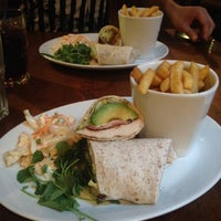 Photo taken at The Slug and Lettuce by Kim L. on 7/4/2014