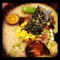 Photo taken at Jyuban Ramen House 十番拉麵屋 by Merry on 9/21/2012