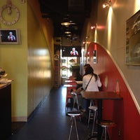 Photo taken at Bar Code Cafe by julius p. on 11/15/2013