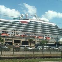 Photo taken at Cruise Terminal Lot B by Bob V. on 7/18/2015