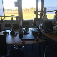 Photo taken at Star FM by Kaspars T. on 10/4/2016