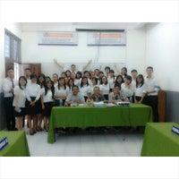 Photo taken at Universitas Methodist Indonesia by Lita Eriska S. on 4/8/2015