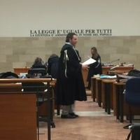 Photo taken at Tribunale di Padova by Mister R. on 11/25/2015