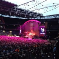 Photo taken at Wembley Stadium by Neil S. on 7/2/2013