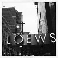 Photo taken at Loews Philadelphia Hotel by Neil S. on 4/24/2013