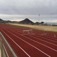 Photo taken at Desert Mountain High School by Judy S. on 1/29/2015