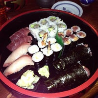 Photo taken at Sagami Japanese Restaurant by Danielle O. on 2/7/2013