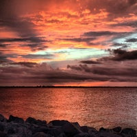 Photo taken at Eau Gallie Causeway by Kurt P. on 7/18/2013