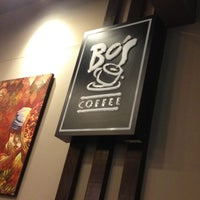Photo taken at Bo's Coffee by WormZinesS G. on 2/22/2013