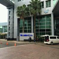 Photo taken at PT. Televisi Transformasi Indonesia (Trans TV & TRANS7) by Irvan e. on 1/9/2017