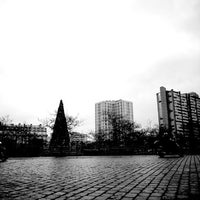 Photo taken at Place d'Italie by geoffrey d. on 12/27/2012