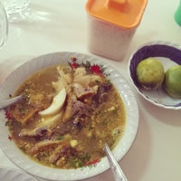 Photo taken at Soto Ayam Cak To by Arad on 10/12/2013