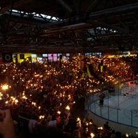 Photo taken at Eissporthalle Frankfurt by Joe C. on 3/17/2013
