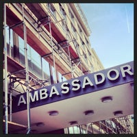 Photo taken at SORAT Hotel Ambassador Berlin by Ellen B. on 4/18/2013