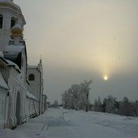 Photo taken at Свято-Знаменский Абалакский монастырь by Антон Д. on 12/15/2012