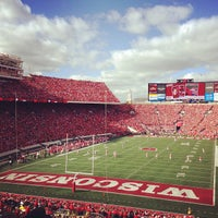 Photo taken at Camp Randall Stadium by Daniel S. on 9/22/2013