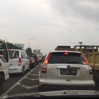 Photo taken at Gerbang Tol Kamal by Rika D. on 12/4/2015