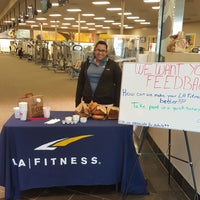 Photo taken at LA Fitness by Frank M. on 4/4/2016