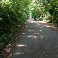 Photo taken at Capital Crescent Trail - Bethesda by Maria G. on 5/28/2013