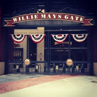 Photo taken at Willie Mays Gate by Maribeth D. on 4/5/2013