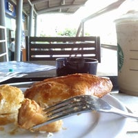 Photo taken at Starbucks Coffee by precy f. on 1/4/2013