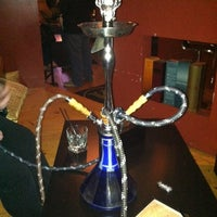 Photo taken at Karma Hookah and Cigar Lounge by Julia K. on 12/1/2012