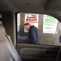 Photo taken at Golden Nozzle Car Wash by Amanda Ann on 12/20/2013