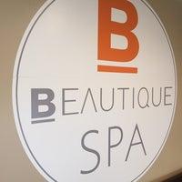 Photo taken at Beautique Day Spa & Salon by Jodi H. on 12/5/2015
