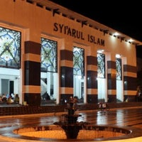 Photo taken at Masjid Agung Syi'arul Islam by Syachronny M. on 7/5/2016