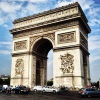 Photo taken at Arc de Triomphe by Boris A. on 7/24/2013