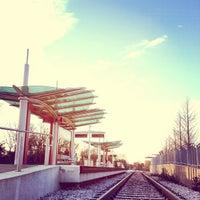 Photo taken at MetroRail - MLK Jr. Station by Brian N. on 1/16/2013