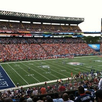 Photo taken at Aloha Stadium by Frank G. on 1/28/2013