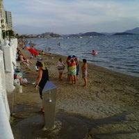 Photo taken at Playa del Tabal_La Manga by Domingo G. on 9/6/2013