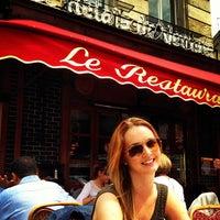 Photo taken at Le Relais de Venise by Amanda L. on 6/14/2013