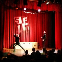 Photo taken at Jet City Improv by Yessica . on 2/17/2013