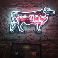 Photo taken at The Burger Map by Valdir J. on 1/4/2013