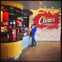 Photo taken at Raising Cane's Chicken Fingers by Jordan M. on 4/17/2014