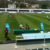Photo taken at Estadio 10 de Diciembre by Bea F. on 5/25/2013