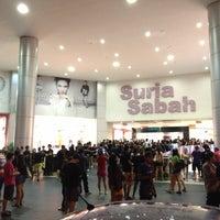 Photo taken at Suria Sabah Shopping Mall by ᴄ ᴀ ᴛ ᴀ ʟ ʏ s ᴛ on 5/8/2013
