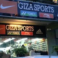 Photo taken at Giza Sports by ᴄ ᴀ ᴛ ᴀ ʟ ʏ s ᴛ on 10/24/2013