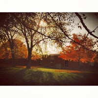 Photo taken at Olivet Nazarene University by Wesley T. on 10/24/2012