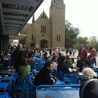 Photo taken at Café Belga by Berk G. on 10/20/2012