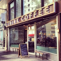 Photo taken at Think Coffee by Graeme F. on 5/14/2013