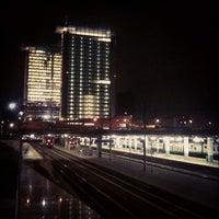 Photo taken at Passante Porta Garibaldi (linee S) by riccardo p. on 10/17/2012